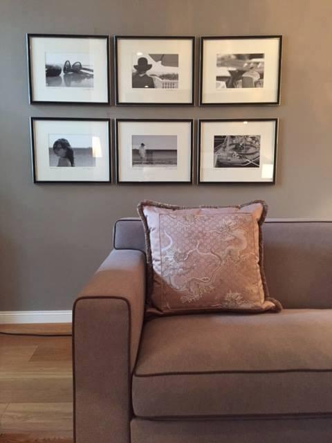 Luxus Couch von Morgentau, Ambiente, Kissen, aus der Manufaktur