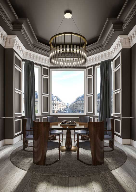 Hugues Chevalier Art Deco Mobel Als Inspiration Morgentau
